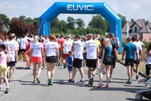 biegacze przygotowują się do zawodów