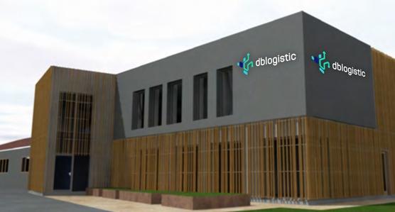 nowoczesny budynek firmy dblogistic